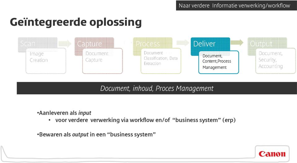 Content,Process Management Document, Security, Accounting Document, inhoud, Proces Management