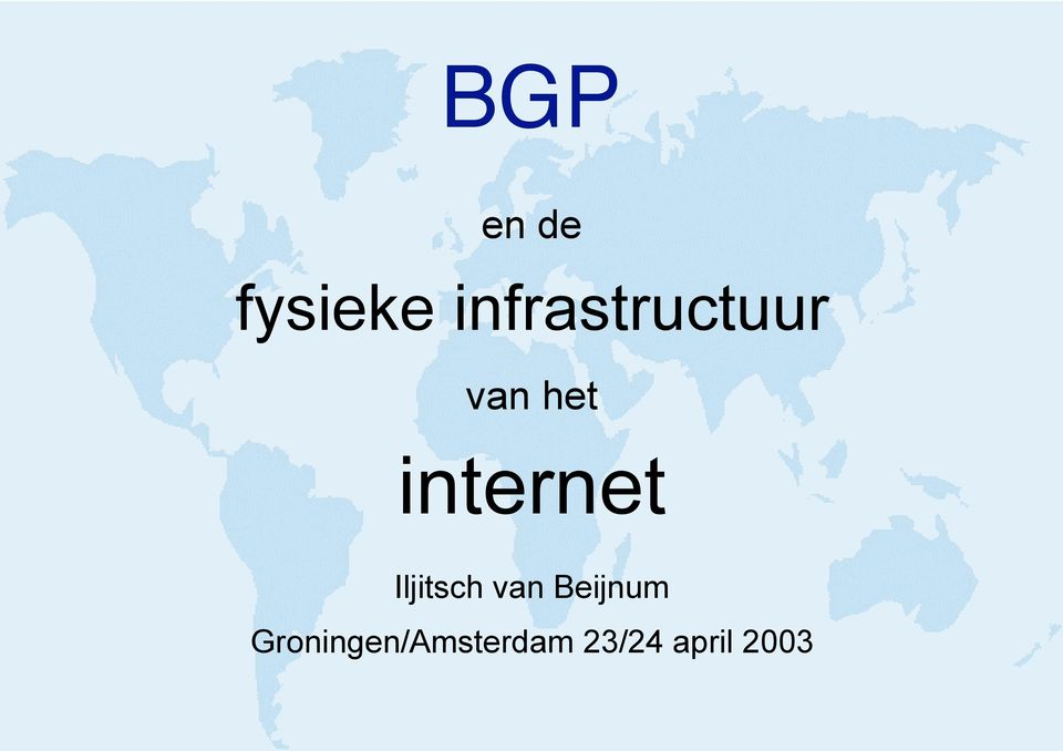 internet Iljitsch van