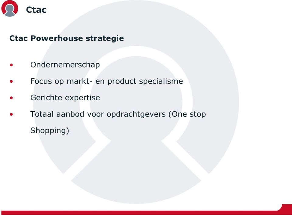 product specialisme Gerichte expertise