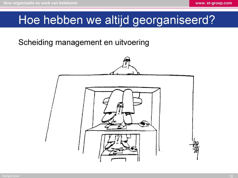 Scheiding management