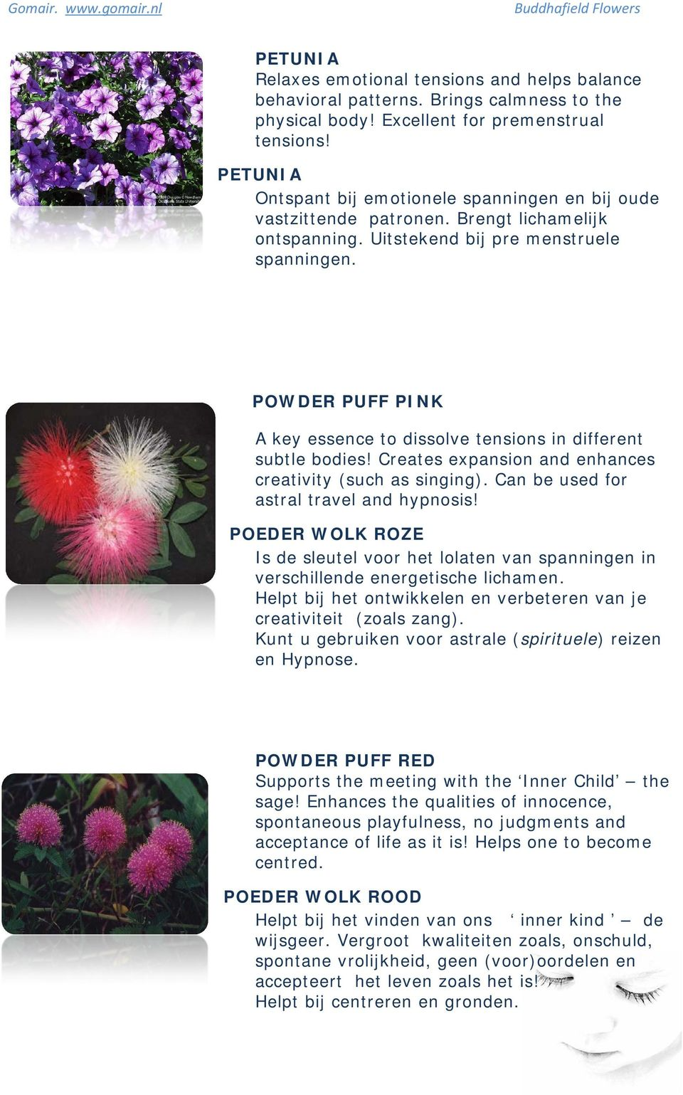 POWDER PUFF PINK A key essence to dissolve tensions in different subtle bodies! Creates expansion and enhances creativity (such as singing). Can be used for astral travel and hypnosis!