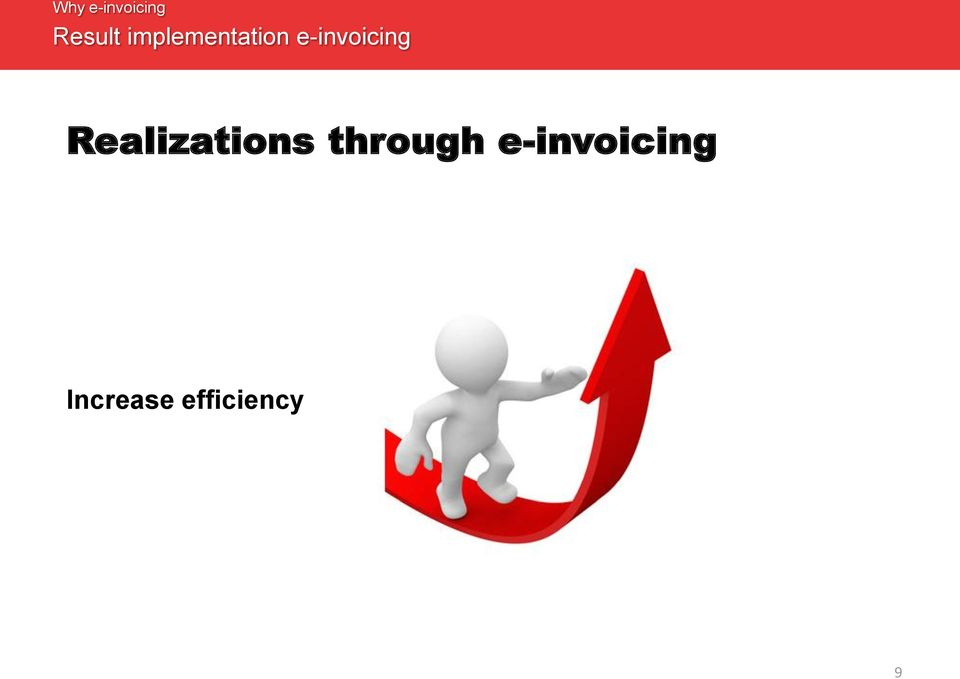 e-invoicing Realizations