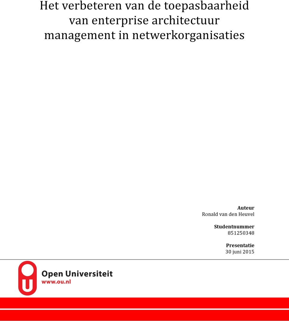 management'in'netwerkorganisaties Auteur&
