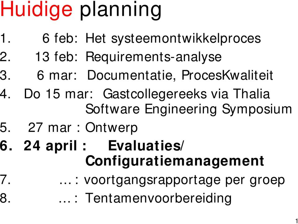 Do 15 mar: Gastcollegereeks via Thalia Software Engineering Symposium 5.