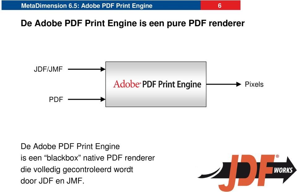 Print Engine is een blackbox native PDF