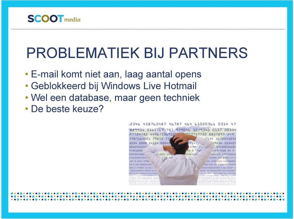 Geblokkeerd bij Windows Live Hotmail