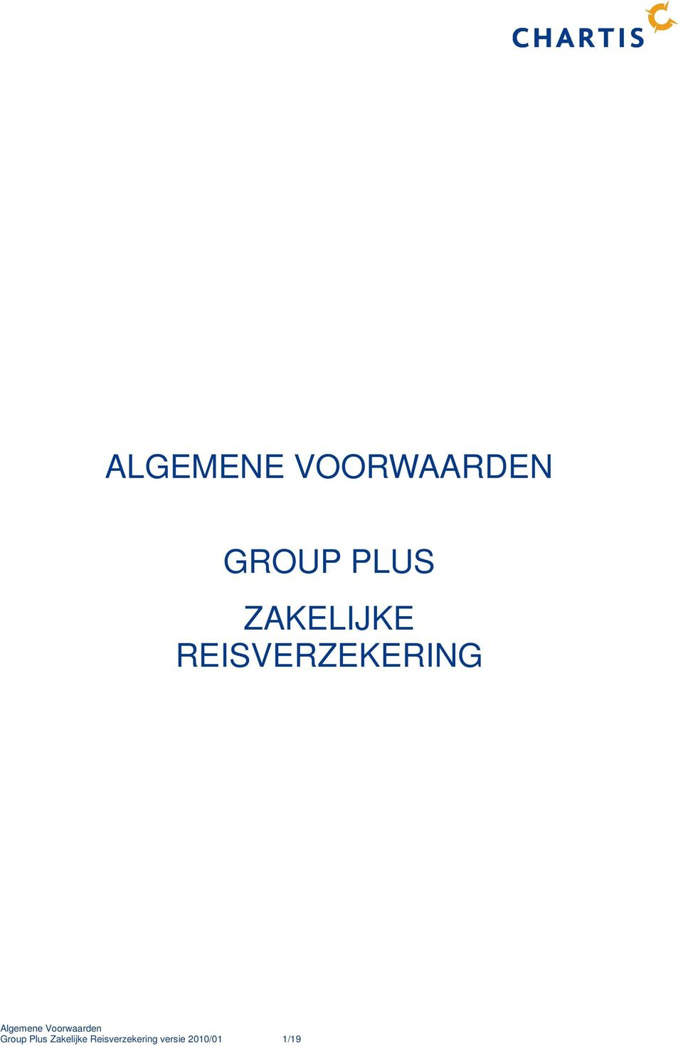 REISVERZEKERING Group Plus