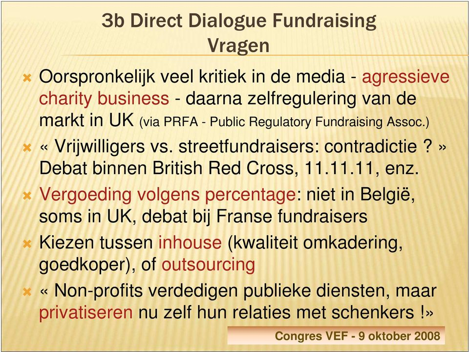» Debat binnen British Red Cross, 11.11.11, enz.