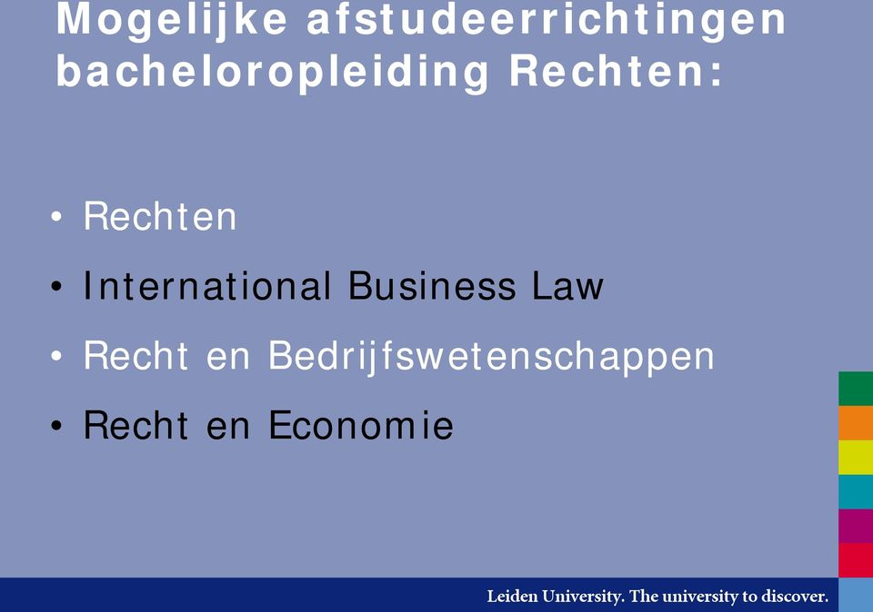 International Business Law Recht
