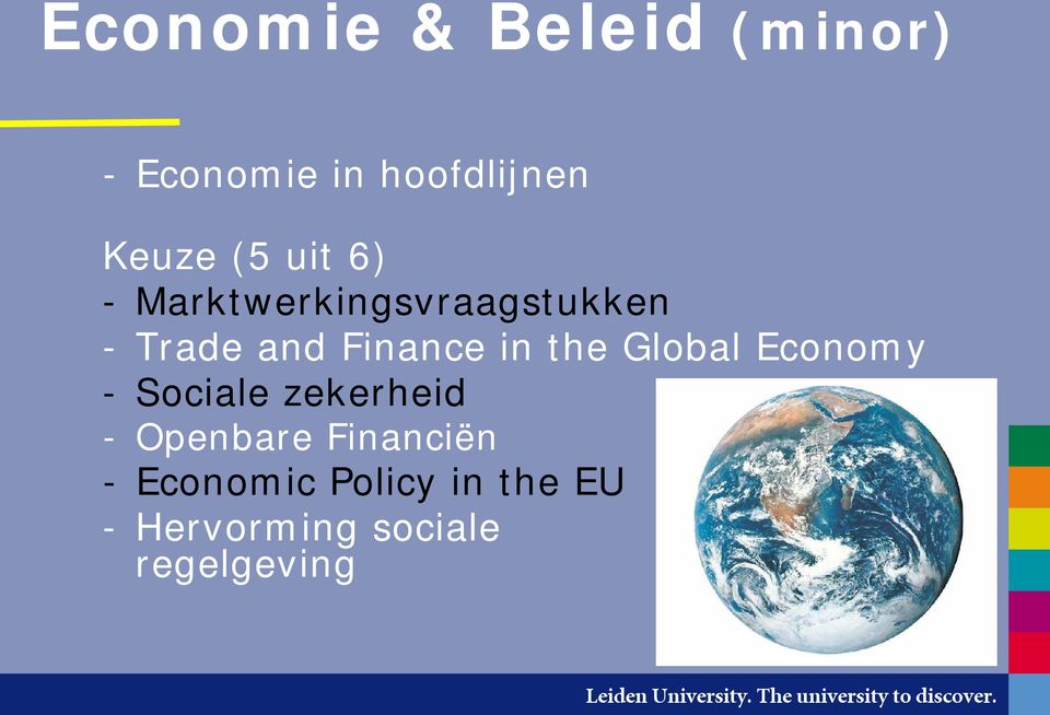 in the Global Economy - Sociale zekerheid - Openbare