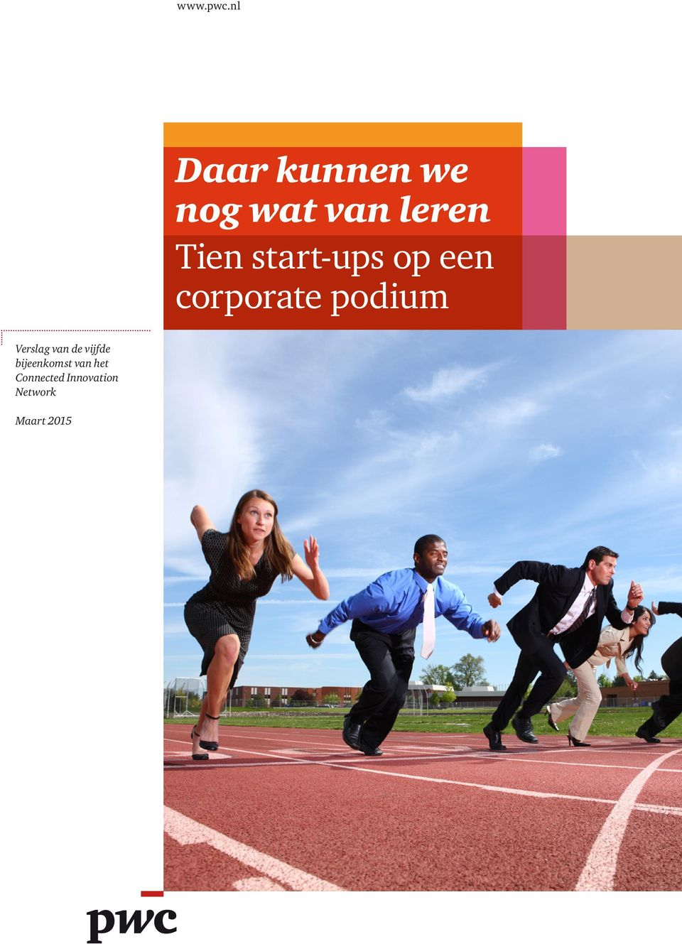 start-ups op een corporate podium