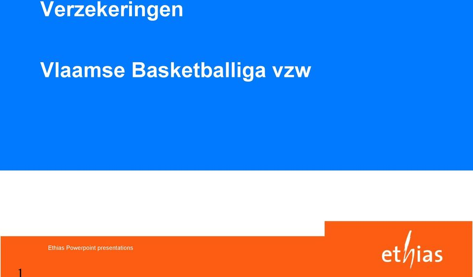 Basketballiga vzw
