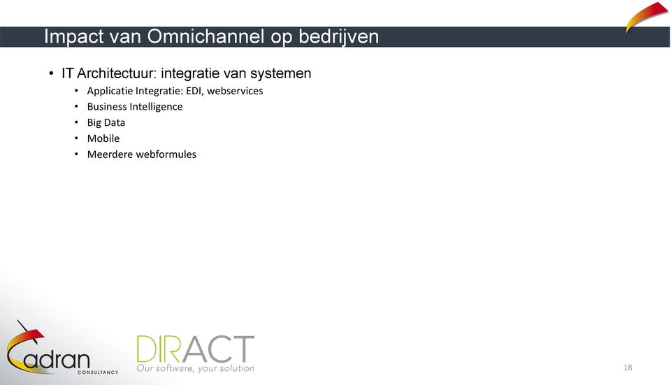 Applicatie Integratie: EDI, webservices