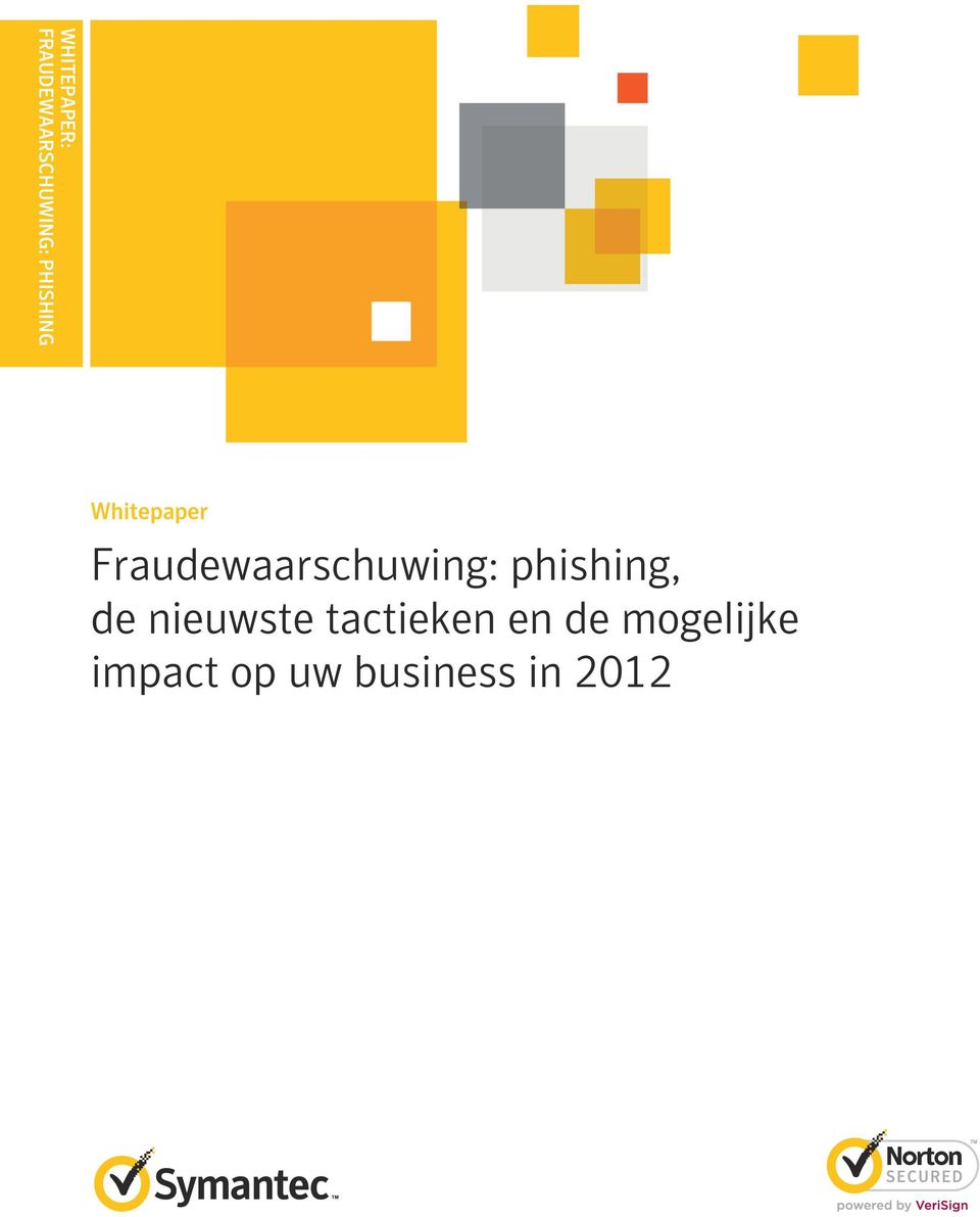 Fraudewaarschuwing: phishing, de