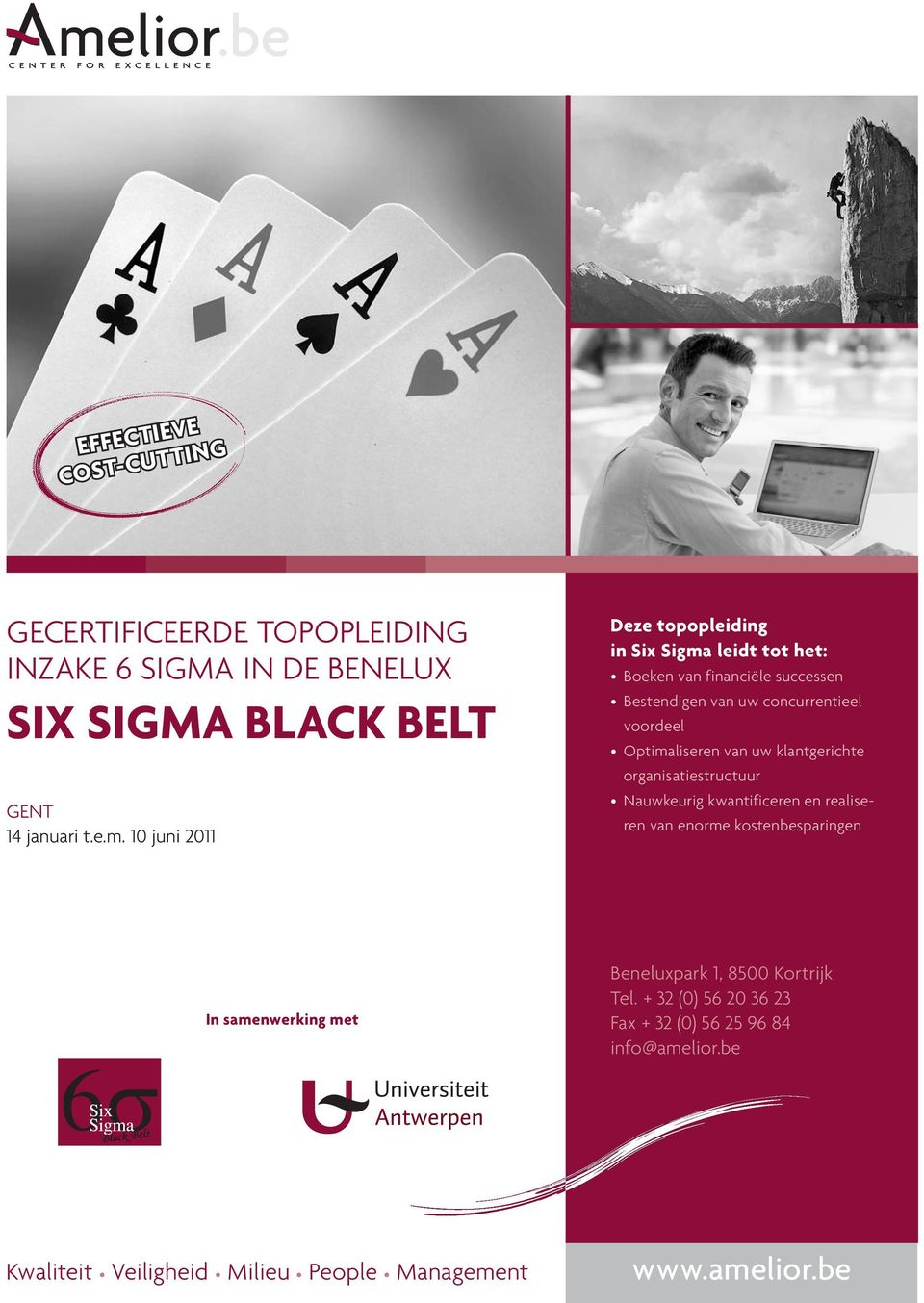 Black Belt gent 14 januari t.e.m.