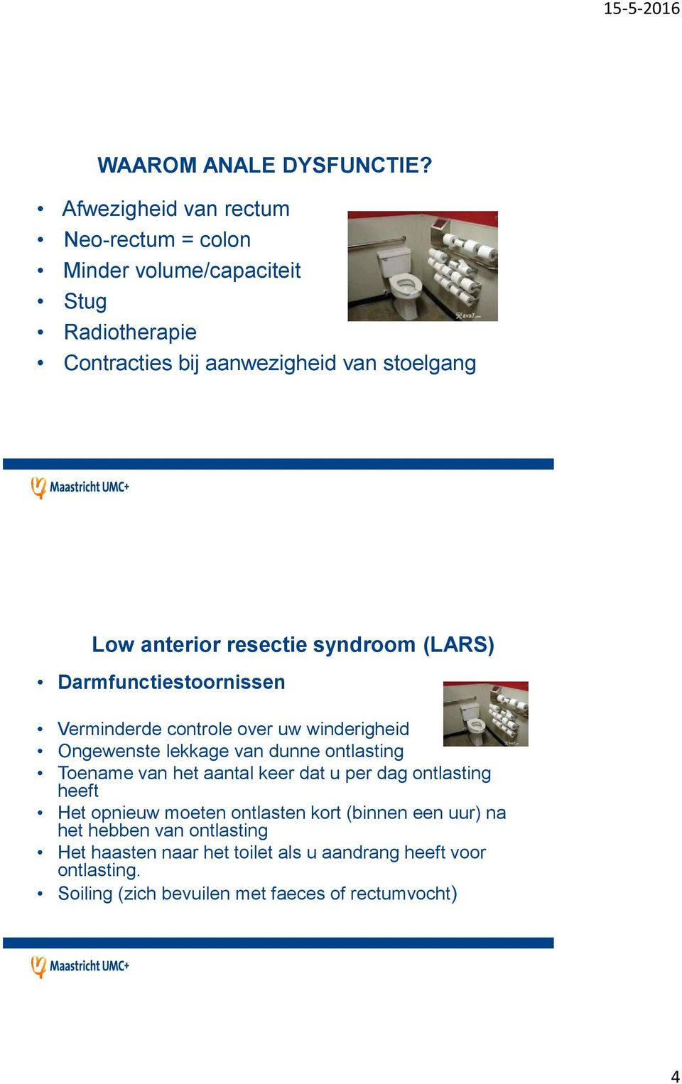 low anterior resectie syndroom
