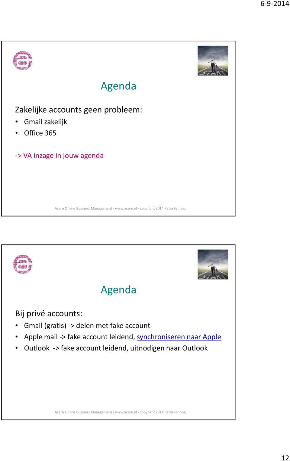 delen met fake account Apple mail -> fake account leidend,