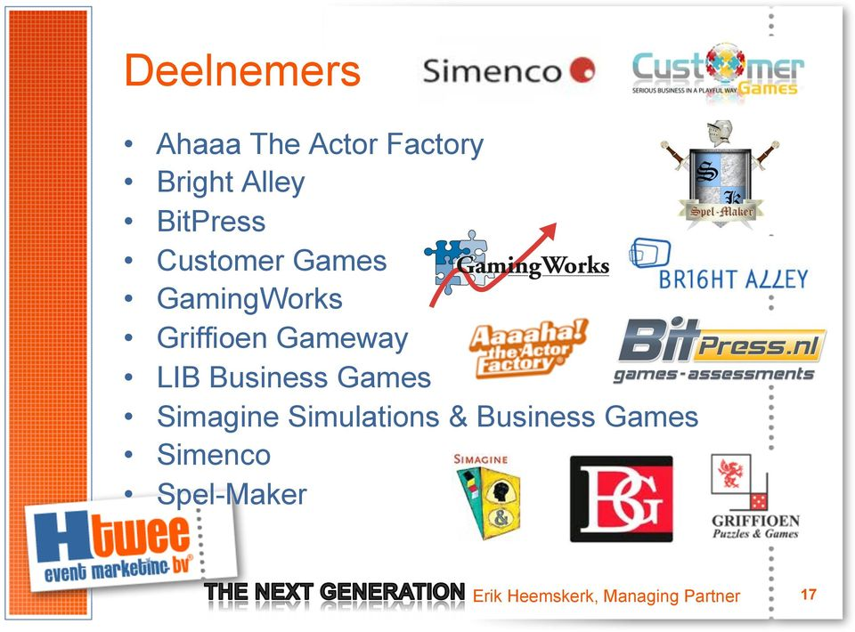 LIB Business Games Simagine Simulations & Business