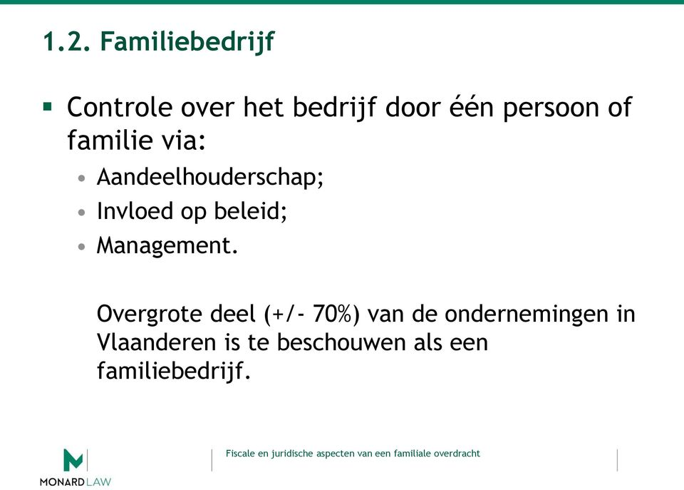 beleid; Management.
