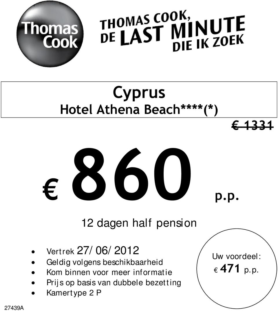 p. 12 dagen half pension