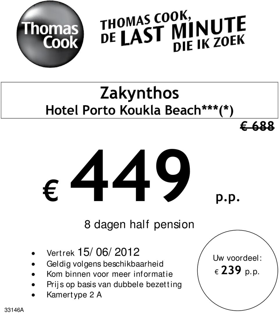 p.p. 8 dagen half pension