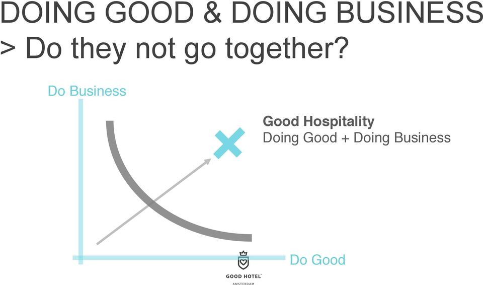 Do Business Good Hospitality