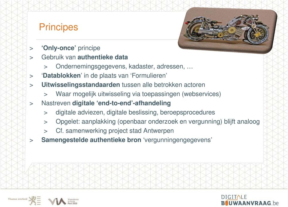 Nastreven digitale end-to-end -afhandeling > digitale adviezen, digitale beslissing, beroepsprocedures > Opgelet: aanplakking