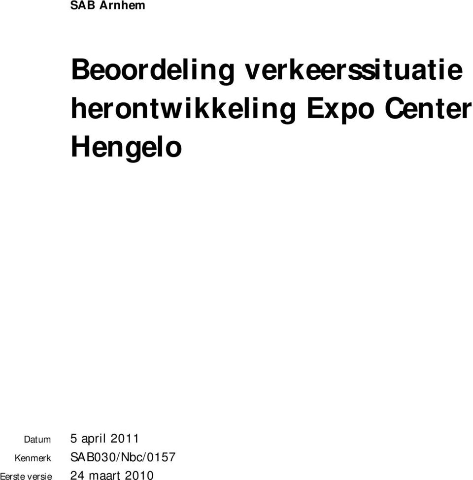 Expo Center Hengelo Datum 5 april