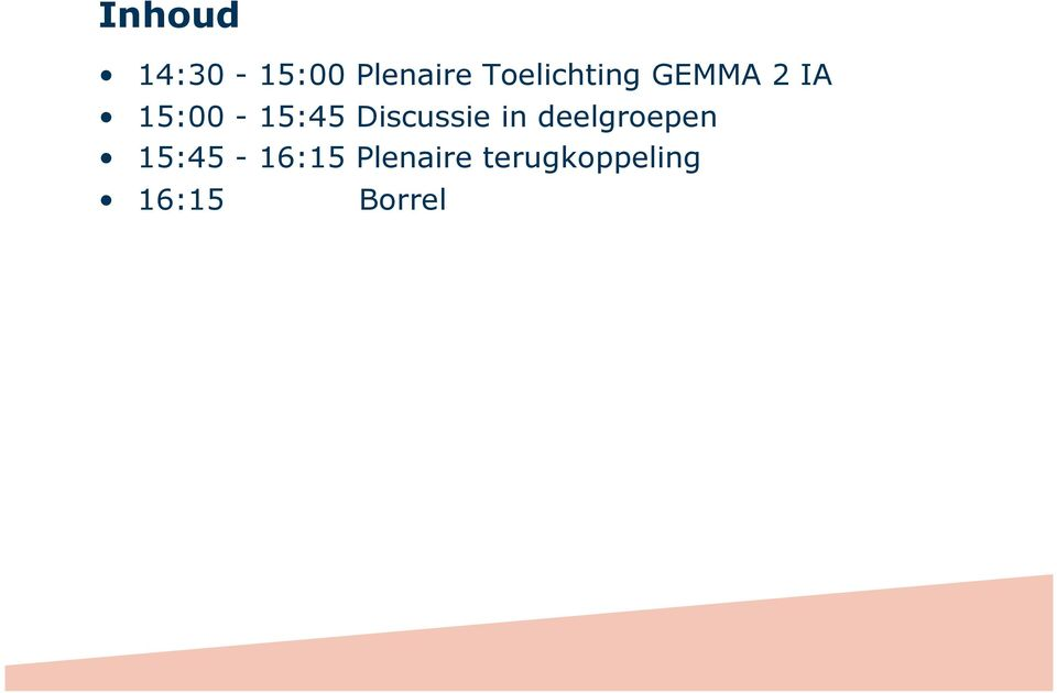 15:00-15:45 Discussie in