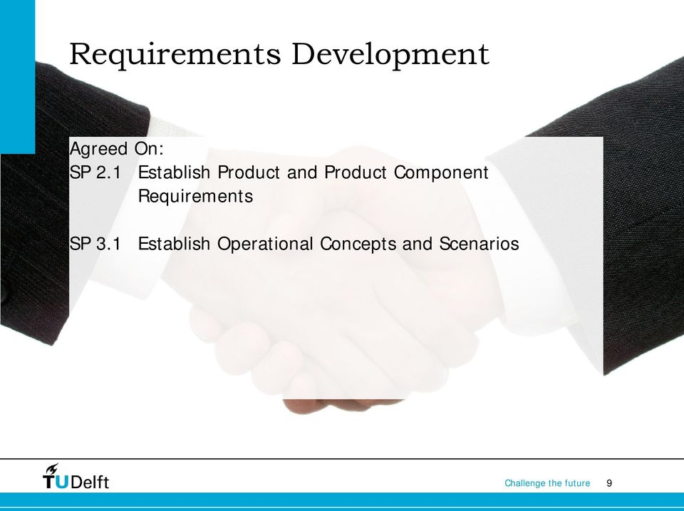 Component Requirements SP 3.