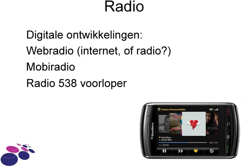 Webradio (internet, of