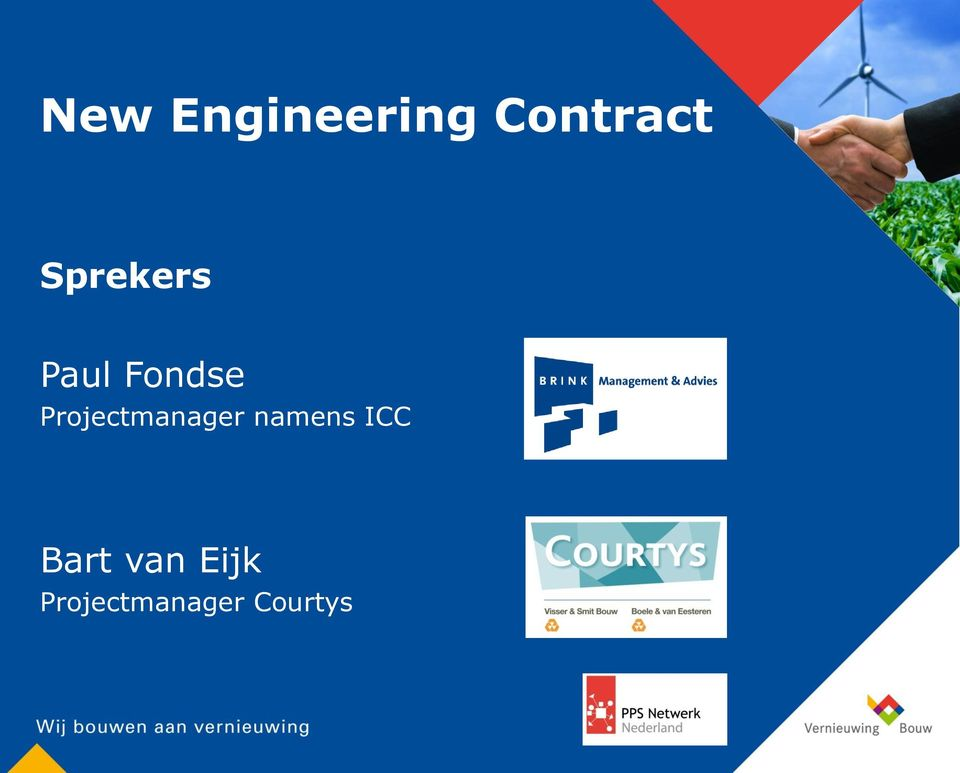 Projectmanager namens ICC