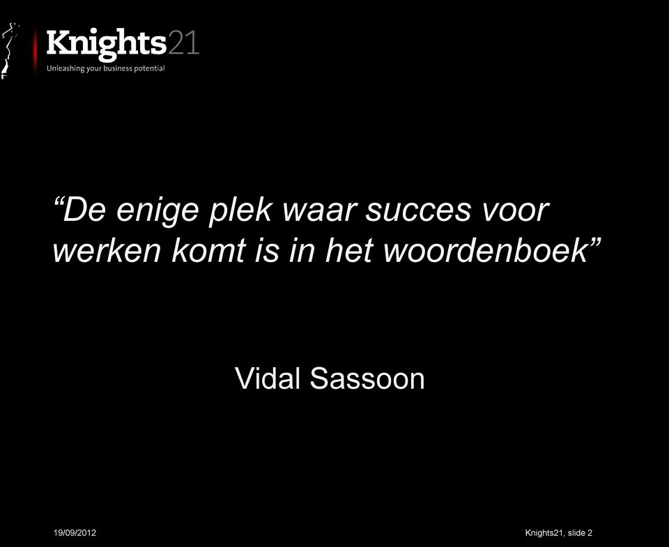 woordenboek Vidal Sassoon