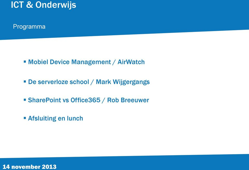 Mark Wijgergangs SharePoint vs