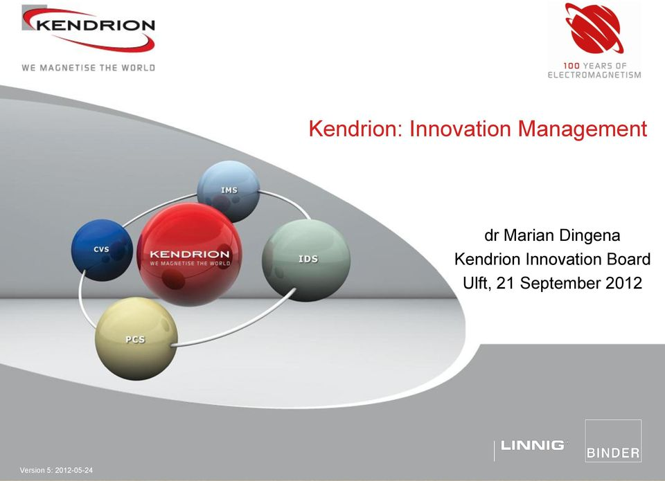 Kendrion Innovation Board