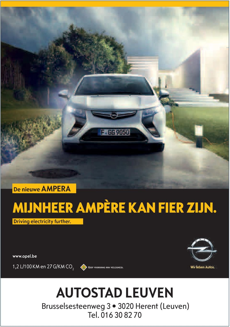 be 1,2 L/100 KM en 27 G/KM CO 2 AUTOSTAD LEUVEN