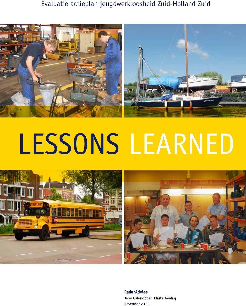 Zuid Lessons Learned RadarAdvies