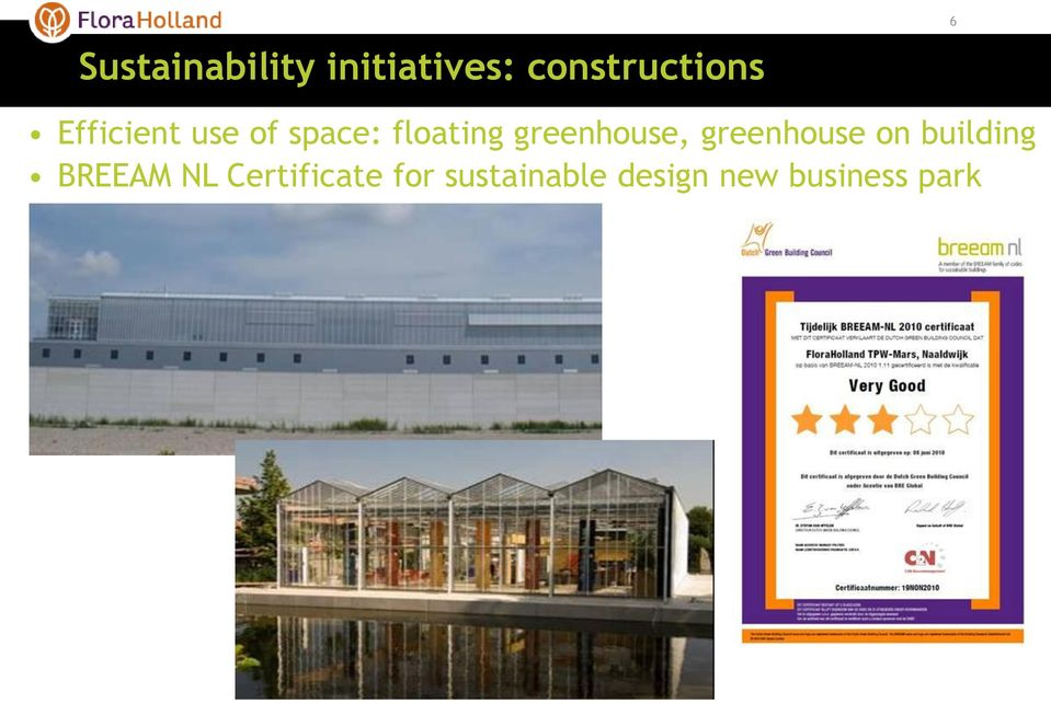 greenhouse, greenhouse on building BREEAM