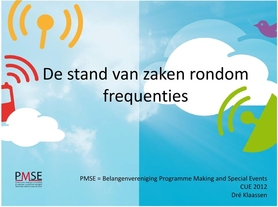 Belangenvereniging Programme Making and
