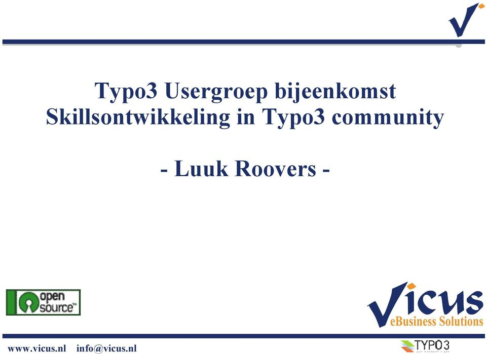 community - Luuk Roovers -