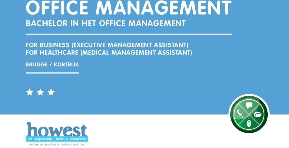MANAGEMENT ASSISTANT) FOR HEALTHCARE