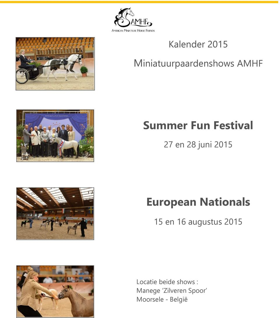European Nationals 15 en 16 augustus 2015