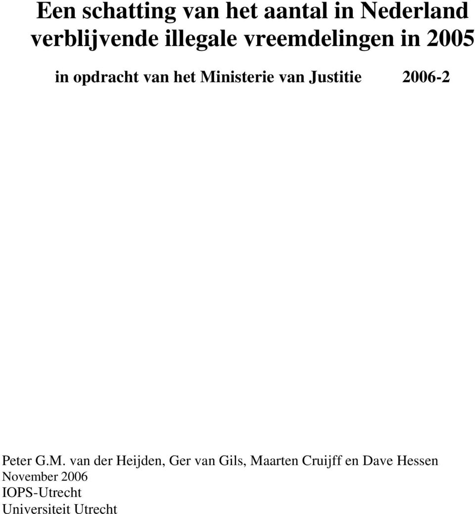 Justitie 2006-2 Peter G.M.