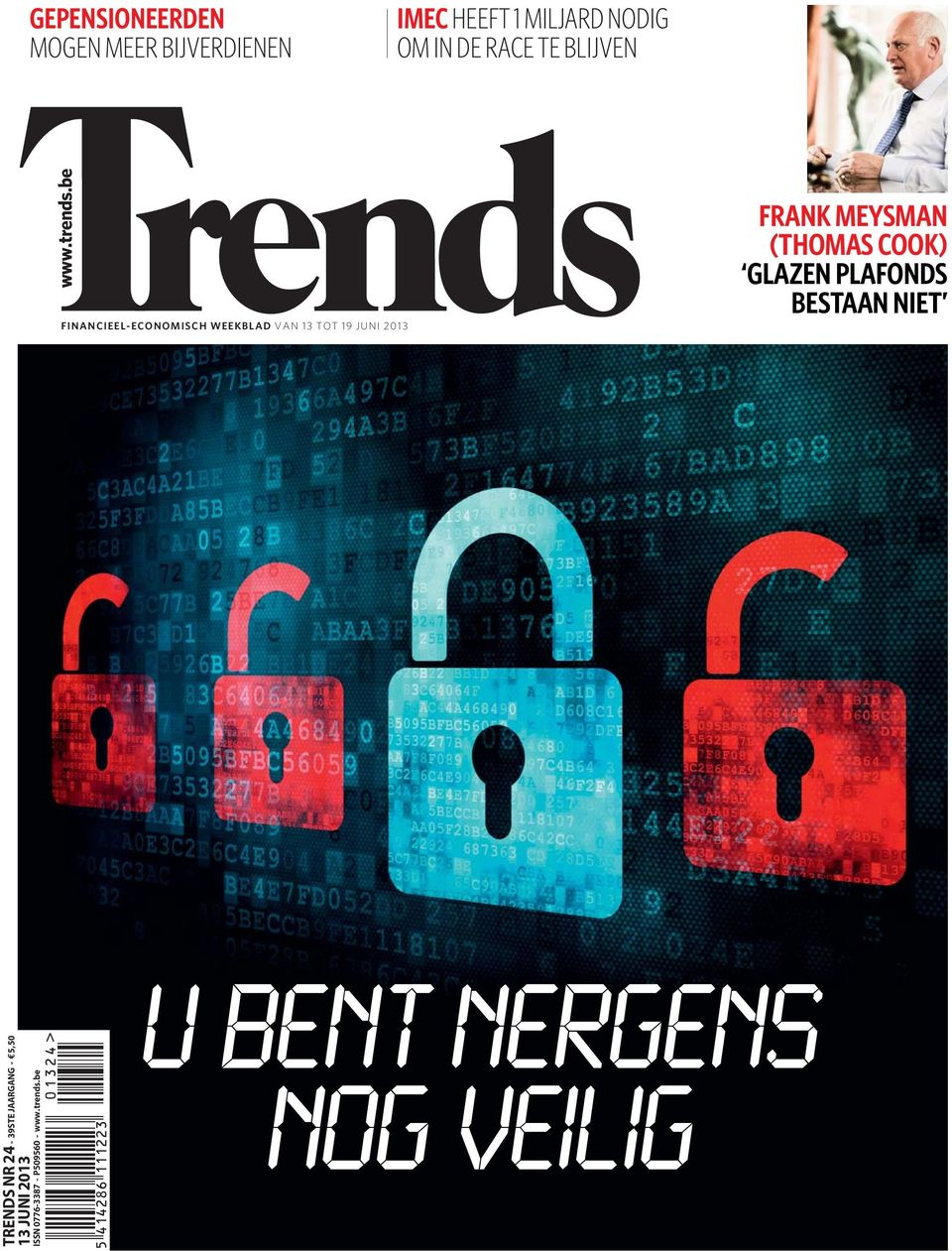 be FINANCIEEL-ECONOMISCH WEEKBLAD VAN 13 TOT 19 JUNI 2013 FRANK MEYSMAN (THOMAS
