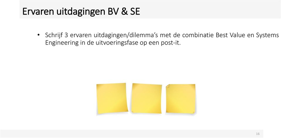 combinatie Best Value en Systems