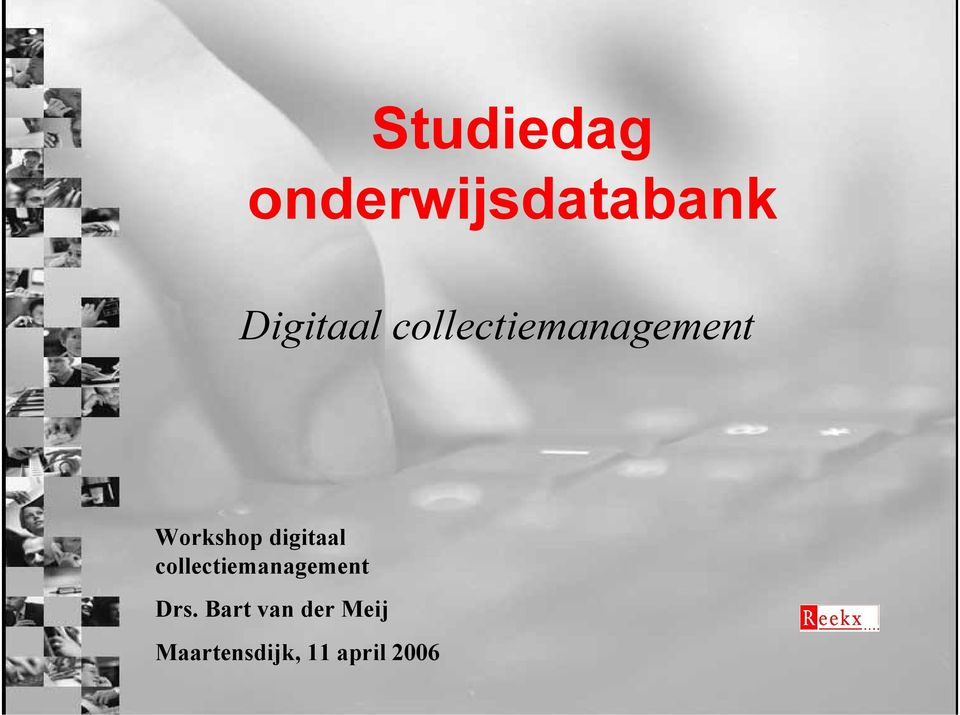 digitaal collectiemanagement Drs.