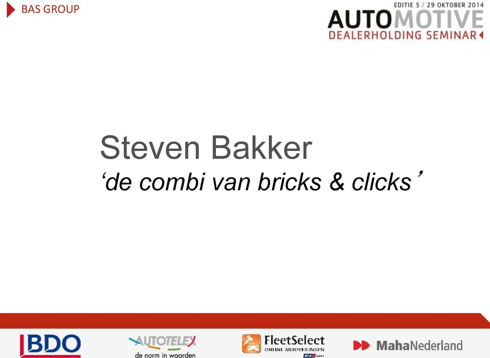Automotive Dealerseminar wordt