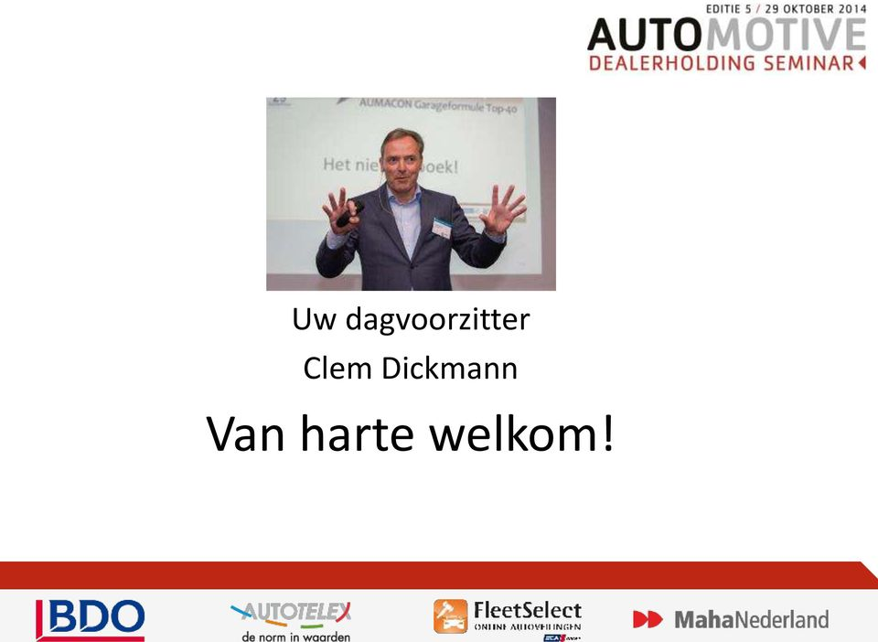 Het Automotive Dealerseminar