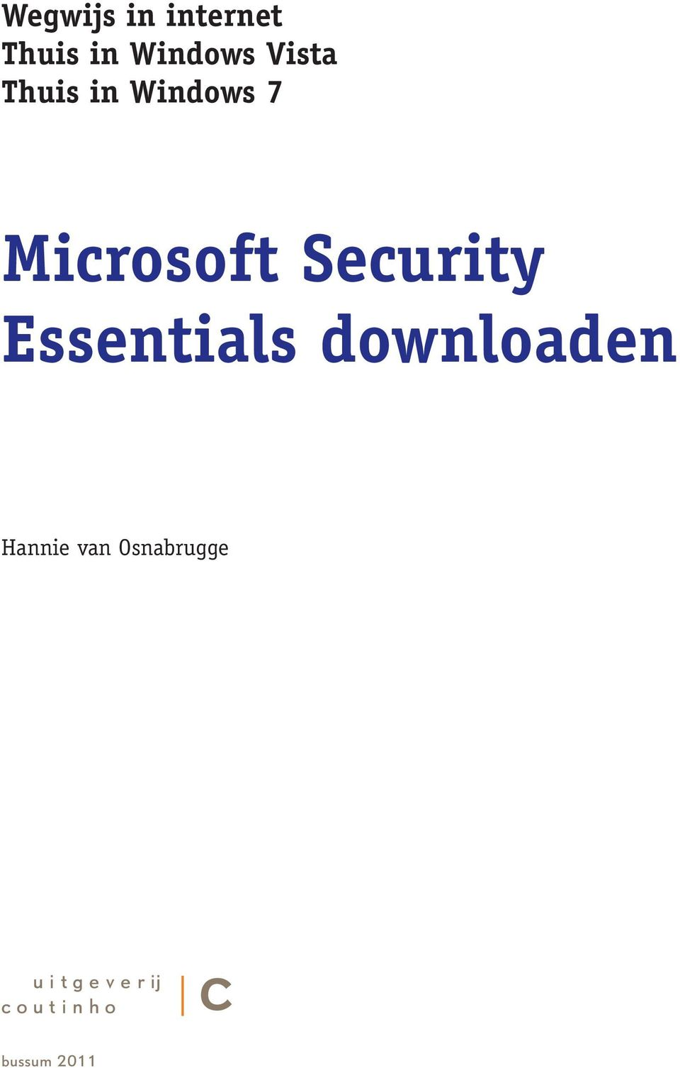 Security Essentials downloaden Hannie van