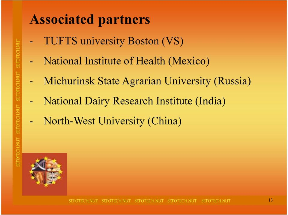 Agrarian University (Russia) - National Dairy Research